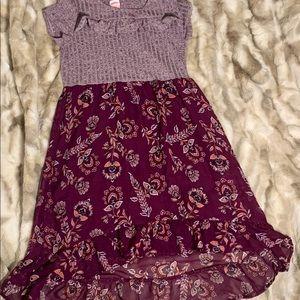 💕EUC girls dress size 10-12